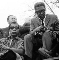 James Baldwin & Bayard Rustin
