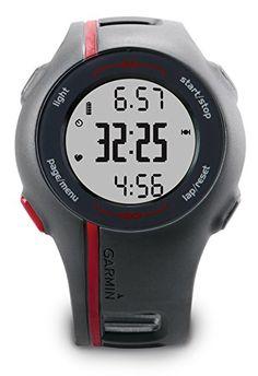 Garmin GPS Laufuhr Forerunner 110 HR - GPS Trainingscomputer inkl. Brustgurt. Sport und Fitness Uhr.      Perfekter Einsteiger GPS Trainingscomputer im modischen Design. Motivation inklusive durch die automatische Streckenaufzeichnung     Hochempfindlicher GPS-Empfänger für zuverlässige Messwerte auch im Wald     Digital, codierte ANT+ Übertragung (Herzfrequenz, Distanz und Geschwindigkeit)     Sehr einfache und verständliche Menüführung und PC Planungs- und Auswertesoftware…