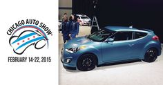 First look at the 2016 Hyundai Veloster Rally Edition from the @chiautoshow. @CAS2015
