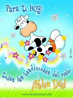 I Love Mondays, Love Phrases, Spanish Quotes, Dear Friend, Happy Day, Special Day, Good Morning, Happy Birthday, Snoopy