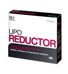 LIPOREDUCTOR Complemento alimenticio a base de L- Carnitina, Mate y la Piña. El Mate contribuye a la degradación de lípidos.