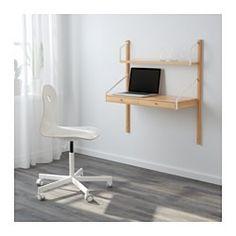Bureau partag parentenfant avec rangement mural chaise de