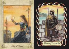 tarot 2 wands - Google Search
