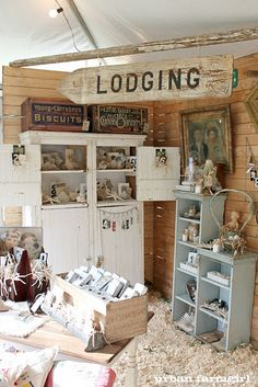 """Lodging"" sign. Cute way to point to the bedrooms in the house"