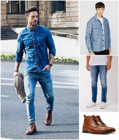 What to wear with tan brown boots | Shop the look now and read the full article at The Idle Man | #StyleMadeEasy