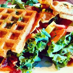 Vegan waffles, cookies, salads, smoothies and more can be found at TIABI Coffee and Waffles, located near UNLV. For more vegan dining options in Las Vegas, visit www.vegansbaby.com