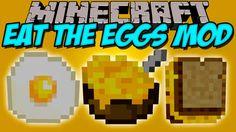 EAT THE EGGS MOD - Comete el Huevo!! 7w7 - Minecraft mod 1.9 Review ESPAÑOL