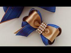 MINI BOUTIQUE ELEGANTE- Mila Medeiros London- Tutorial- Diy Diy Hair Bows, Ribbon Hair, Kanzashi Tutorial, Diy Tutorial, Baby Bows, Baby Headbands, Diy Tiara, Mini Boutique, Diy Hairstyles