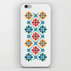 Traditional Folk Pattern Bogliarka, Slovakia iPhone & iPod Skin