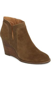 5285d75684016 Product Image 0 Wedge Bootie, Wedge Shoes, Lucky Brand Shoes, New Wardrobe,