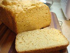 The Gluti Girls: The Best Bread EVER! Gluten free millet bread machine :)