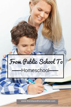Help your kids transition from public school to homeschool!