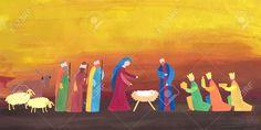 47410105-Hand-drawn-vector-illustration-with-nativity-scene-Baby-jesus-born-in-Bethlehem--Stock-Vector.jpg (1300×650)