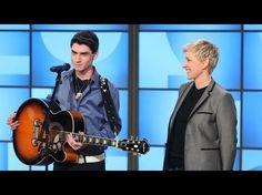 David Thibault channels Elvis performing 'Blue Christmas' on 'Ellen' (video)