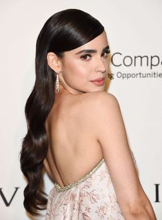 Sofia Carson Icons from Elton John's Oscars after party Sophia Carson, Girlfriend Goals, Beautiful Long Hair, Demi Lovato, Beautiful Celebrities, Easy Hairstyles, Celebs, Hair Makeup, Actresses