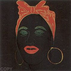 Andy Warhol - Myths: Mammy, 1981 screenprint 38 x 38