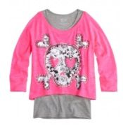 Crop over long sleeves icon tee $36.90 reg. price from justice