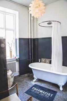 Ma maison au naturel: Le charme des salle de bain anciennes
