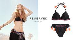 Reserved 16' #black#swimsuit#fringe