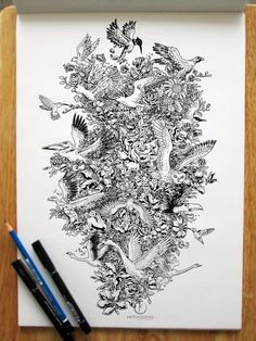 BLOOMING FLIGHT by *kerbyrosanes on deviantART