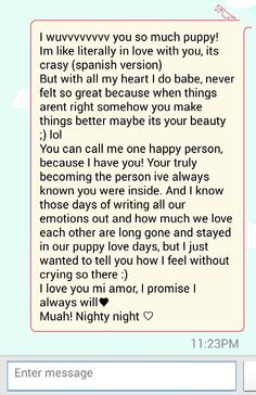 An original goodnight text♥ From: Me To: Him