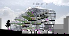 Vertical Farm Section by jonorobo on DeviantArt