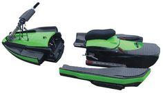 Tecnoneo: BomBoard, moto de agua modular para llevarla en tu coche sin problemas