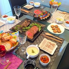 ワインに合う料理でおもてなししました(*^^*) - 19件のもぐもぐ - ピンチョス&ローストビーフでパーティー料理 by miho0708