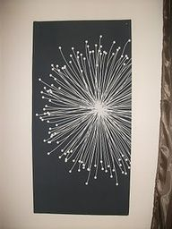 dandelion art...easy.