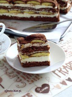 Ciasto Latte Macchiato – Zjem to! Latte Macchiato, Cheesecake Pops, Caramel Latte, Coffee Love, Cupcake Cookies, French Toast, Baking, Breakfast, Recipes