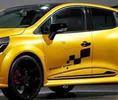 2 x RENAULT SPORT Car Side Door Vinyl Stickers Banner JDM Renault Sport, Audi Sport, Sports Decals, Car Decals, Clio Rs, Jdm, Power Cars, Bike Art, Side Door