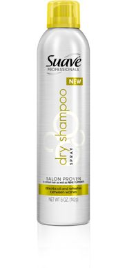 My take on Suave dry shampoo | Being Spiffy
