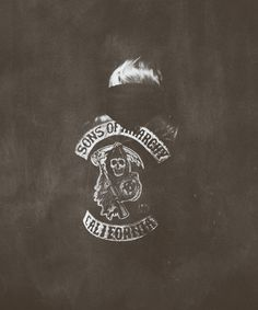Lets get this clear… Sons of Anarchy is pretty lame. But this image is cool.
