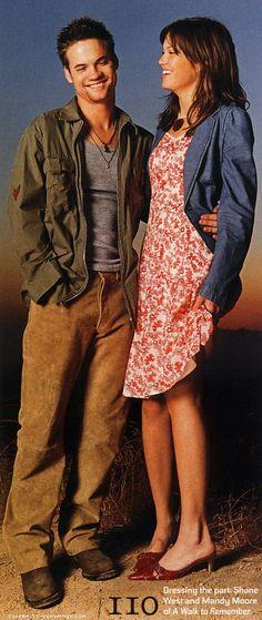 Mandy Moore & Shane West