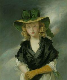 Princess Mary (1776-1857) | Hoppner. 1785