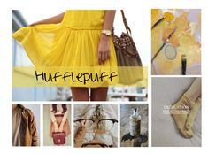 """""""Hufflepuff #11"""" by harrypotterlover12 ❤ liked on Polyvore featuring Murphy"""
