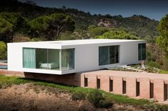Pedro Reis designed this home in Melides, Grândola Municipality, Portugal