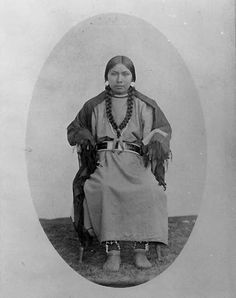 Nez Perce woman – 1875