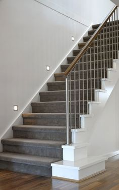 stair lighting | Home Design Centre Stairs, Staircases and Lighting
