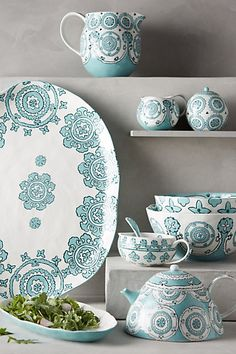 Gloriosa Serveware #anthropologie