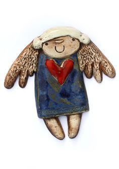studio angelus, studio-angelus, studio, pracownia ceramiczna,ceramika artystyczna pracownia plastyczna, angelus, ceramika, anioły, anioły ceramiczne, aniołki, anioł witający, anioły stojące, anioły wiszące, anioły na prezent, anioł szkliwiony, prezent, anioł ręcznie robiony, anioł stróż, pamiątka, rękodzieło, sztuka ludowa, upominki, artykuły dekoracyjne, biżuteria, misy, patery, rzeźba, płaskorzeźba, ikona, projektowanie,koty, słonie, ptaki, ptak, motyl, motyle, medalion, szkliwo… Angel Pendant, Ceramics, Christmas Ornaments, Studio, Holiday Decor, Diy, Tattoo, Xmas, Hall Pottery
