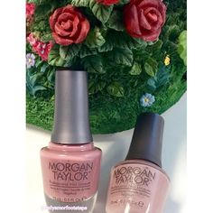 Coming Up Roses and Perfect Match @mtmorgantaylor #nails #nail #fashion #style #TagsForLikes #cute #beauty #beautiful #instagood #pretty #girl #girls #stylish #sparkles #styles #gliter #nailart #art #opi #photooftheday #essie #unhas #preto #branco #rosa #love #shiny #polish #nailpolish #nailswag