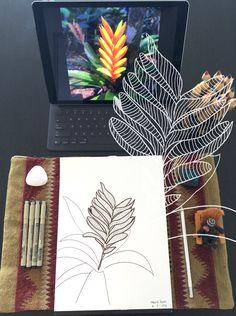 Day 2 #30ideas30days #illustration #flowers #blackandwhite #drawing #patternly.design#30ideias30dias #ilustração #flores #pretoebranco #desenhoobservacao #decolalab2016 #oficinaamandamol 