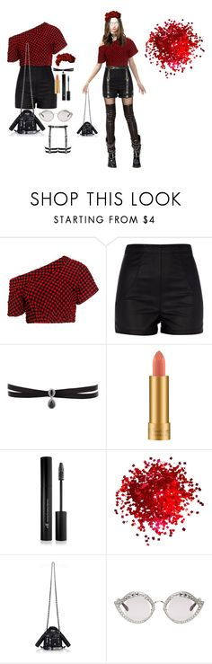 """""""fashion"""" by ee3674889 on Polyvore featuring moda, Rachel Comey, River Island, Fallon, MAC Cosmetics, Forever 21, Moschino ve Gucci"""