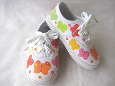 Girls Butterfly Shoes  Baby or Toddler  by boygirlboygirldesign, $30.00