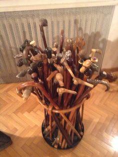 #antiquecane Collection of antique and very rare  canes part 3 - call Danilo 0039 335 6815268