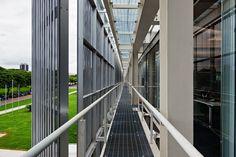 Sede Sebrae Brasília - Detalhe da fachada