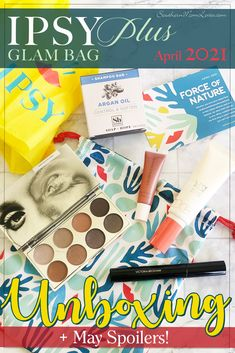 Hey, guys! It's time for my #IPSY Glam Bag PLUSunboxing for April 2021 and this month's theme is Force of Nature! I'll tell you a little about IPSY Glam Bag Plus, all of the products that could be in your April #GlamBagPlus, what I got in mine, plus I've got SPOILERS for the May bag! Let's get unbagging! #GiftedbyIPSY #IPSYForceOfNature #beauty #makeup #skincare #subscriptionbox #unboxing #spoilers