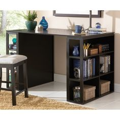 Greyson Living Barclay Black Counter Height Desk