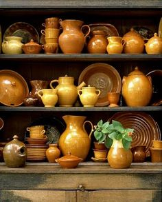 American pottery...i have a small collection from my mother-in-laws old collection.  Its beautiful!